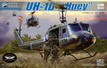 UH-1D Huey · KH 80154 ·  Kitty Hawk · 1:48