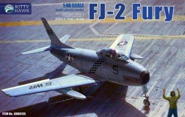 FJ-2 Fury · KH 80155 ·  Kitty Hawk · 1:48