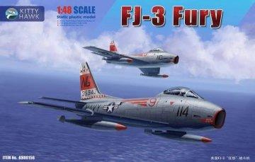 FJ-3 Fury · KH 80156 ·  Kitty Hawk · 1:48