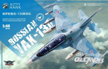 Russian Yak-130 · KH 80157 ·  Kitty Hawk · 1:48