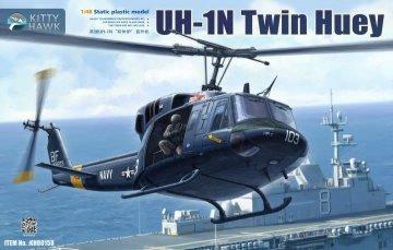 UH-1N Twin Huey · KH 80158 ·  Kitty Hawk · 1:48