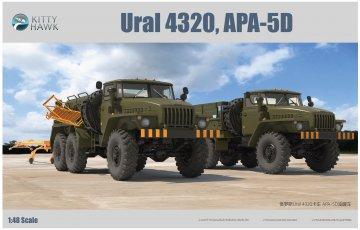 Ural 4320APA-5D · KH 80159 ·  Kitty Hawk · 1:48