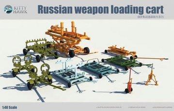 Russian Weapon Loading Cart · KH 80161 ·  Kitty Hawk · 1:48