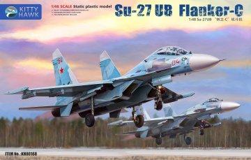 Su-27 UB Flanker C · KH 80168 ·  Kitty Hawk · 1:48