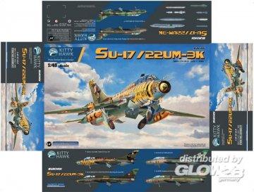 Su-17, Su-22UM-3K Fitter G · KH KH80147 ·  Kitty Hawk · 1:48