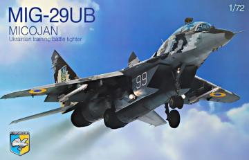 MIG-29UB Ukrainian training battle tight · KON 72004 ·  Kondor · 1:72