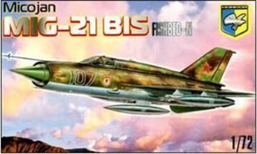 MiG-21 BIS Fishbed-N Soviet fighter · KON 7201 ·  Kondor · 1:72