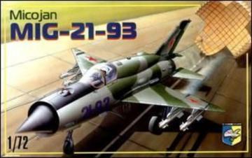 MiG-21-93 Soviet fighter · KON 7205 ·  Kondor · 1:72