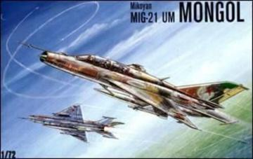 MiG-21 UM Mongol Soviet trainer-fighter · KON 7207 ·  Kondor · 1:72