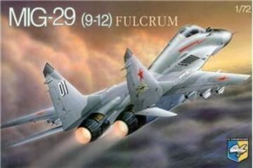 MiG-29 (9-12) Soviet prototype fighter · KON 7210 ·  Kondor · 1:72