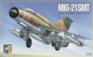 MiG-21 SMT Soviet multipurpose fighter · KON 7214 ·  Kondor · 1:72