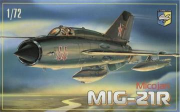 MiG-21 R Soviet reconnaissance fighter · KON 7215 ·  Kondor · 1:72