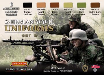 German military uniforms WWII set n.2 · LIFE CS05 ·  Lifecolor