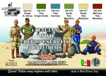 Italian WWII Regio Esercito Uniforms · LIFE CS14 ·  Lifecolor
