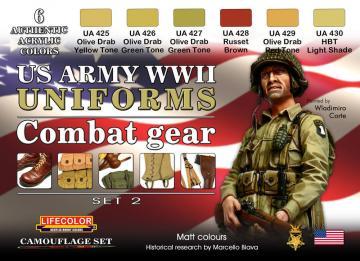 WWII US combat gear · LIFE CS18 ·  Lifecolor