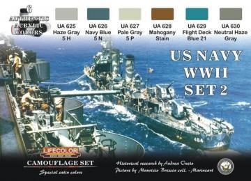 Camouflage Set US Navy WWII Set 2 · LIFE CS25 ·  Lifecolor