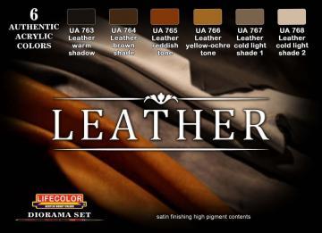 LEATHER - Leder · LIFE CS30 ·  Lifecolor