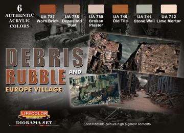 Debris and Rubble Europe Village · LIFE CS31 ·  Lifecolor
