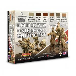 British Uniforms & Equipment · LIFE CS45 ·  Lifecolor