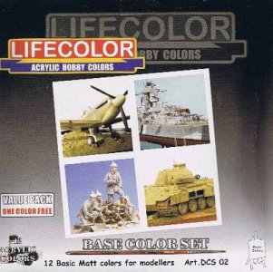 12 col. LC series value pack (1 F. frei) · LIFE DCS02 ·  Lifecolor