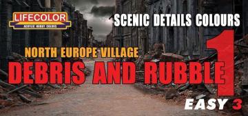 North Europe Village Debris and Rubble 1 · LIFE MS07 ·  Lifecolor