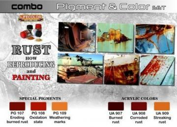 Pigment&Color S.Rust How reproducing+pai · LIFE SPG03 ·  Lifecolor