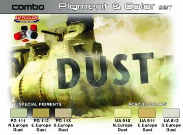 SET COMBO effects of DUST · LIFE SPG04 ·  Lifecolor