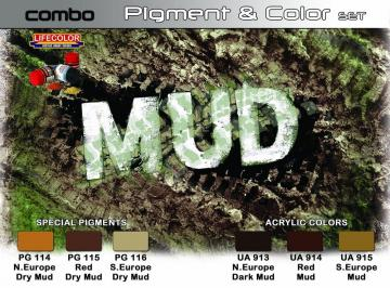 SET COMBO effects of MUD · LIFE SPG05 ·  Lifecolor