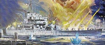 USS Carronade · LI 0403 ·  Lindberg · 1:168