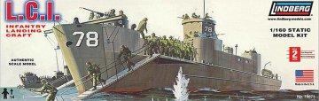 LCI, Infanterie-Landungsboot · LI 0404 ·  Lindberg · 1:160