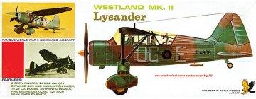 Westland Lysander · LI 0410 ·  Lindberg · 1:48