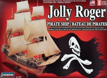 Jolly Roger Piraten-Schiff · LI 7874 ·  Lindberg · 1:130