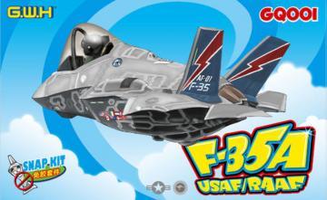 F-35A USAF/RAAF, Cartoon Kit Series · LIO GQ001 ·  Lion Roar