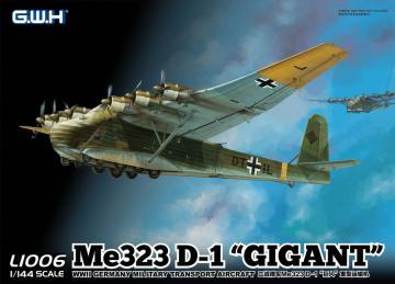WWII Luftwaffen Messerschmitt Me 323 D-1 Gigant · LIO L1006 ·  Lion Roar · 1:144