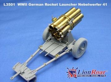 150mm Nebelwerfer 41 · LIO L3501 ·  Lion Roar · 1:35