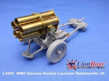 210mm Nebelwerfer 42 · LIO L3503 ·  Lion Roar · 1:35