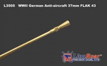 Flak 43 37mm Anti-aircraft Gun · LIO L3505 ·  Lion Roar · 1:35