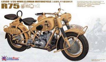 WWII German BMW R75 (2 motorcycles) · LIO L3509 ·  Lion Roar · 1:35