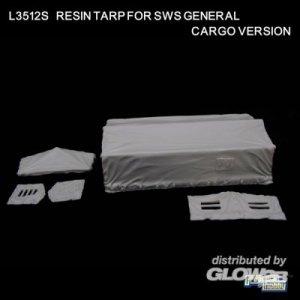 Resin Tarp for Ger. sWS Gen. Cargo Vers. · LIO L3512-S ·  Lion Roar · 1:35