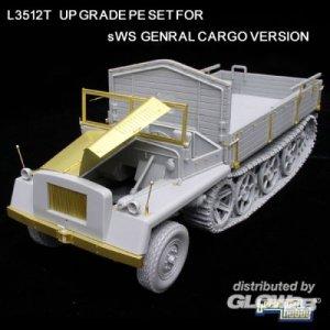 Upgrate PE part for WWII Ger. sWS G.C.V. · LIO L3512-T ·  Lion Roar · 1:35