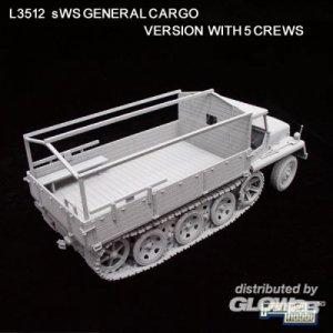 WWII Ger. sWS General Cargo Version/w5cr · LIO L3512 ·  Lion Roar · 1:35