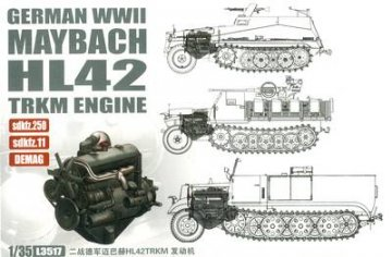 WWII Ger.Maybach HL42 TUKRM Engine sd250 · LIO L3517 ·  Lion Roar · 1:35