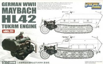 WWII Ger.Maybach HL42 TUKRM sdkfz.251 · LIO L3518 ·  Lion Roar · 1:35