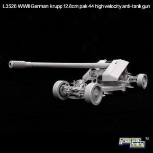 WWII German Krupp 12,8cm Pak44 Anti-Tank · LIO L3526 ·  Lion Roar · 1:35