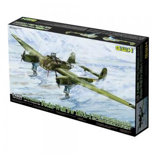 Focke-Wulf Fw 189 A-1 mit Schneekufen · LIO L4808 ·  Lion Roar · 1:48