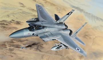 F-15B/D Israeli Air Force&U.S.Air Force 2 · LIO L4815 ·  Lion Roar · 1:48