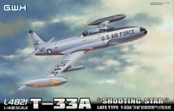 T-33A Late VersionShooting Star USAF · LIO L4821 ·  Lion Roar · 1:48
