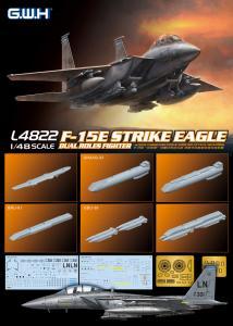 F-15E Strike Eagle Dual-Roles Fighter · LIO L4822 ·  Lion Roar · 1:48