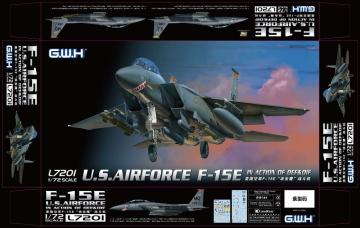 USAF F-15E In action of OEF & OIF · LIO L7201 ·  Lion Roar · 1:72