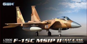F-15C MSIP II USAF & ANG · LIO L7205 ·  Lion Roar · 1:72
